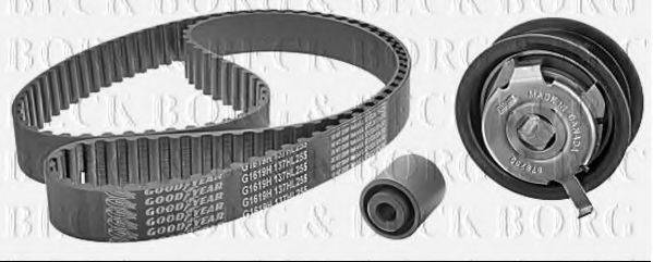 BORG & BECK BTK1024 Комплект ремня ГРМ