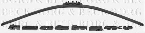 BORG & BECK BW28F Щетка стеклоочистителя