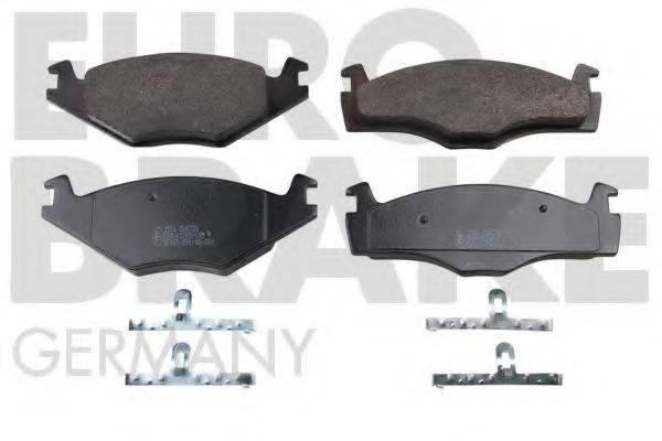 EUROBRAKE 5502224735 Тормозные колодки