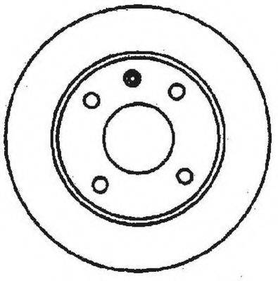 JURID 561178JC Тормозной диск