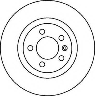 JURID 562081JC Тормозной диск