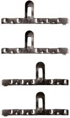 JURID 792126J Комплектующие, колодки дискового тормоза
