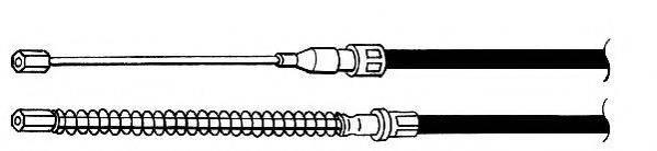 JURID 431180J Трос, стояночная тормозная система
