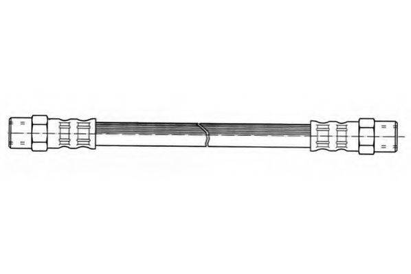 JURID 171144J Тормозной шланг