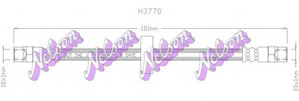 BROVEX-NELSON H3770 Тормозной шланг