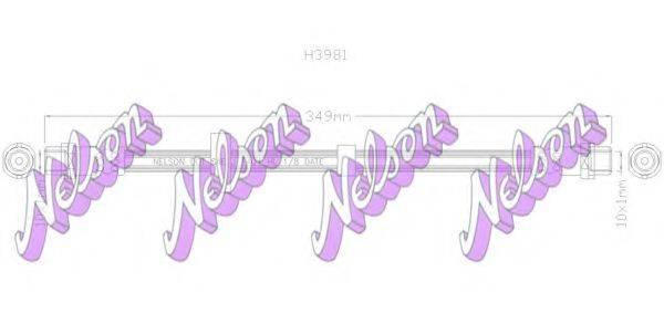BROVEX-NELSON H3981 Тормозной шланг