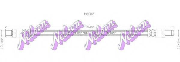 BROVEX-NELSON H6002 Тормозной шланг