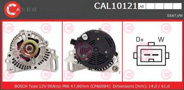 CASCO CAL10121AS Генератор