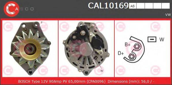 CASCO CAL10169AS Генератор
