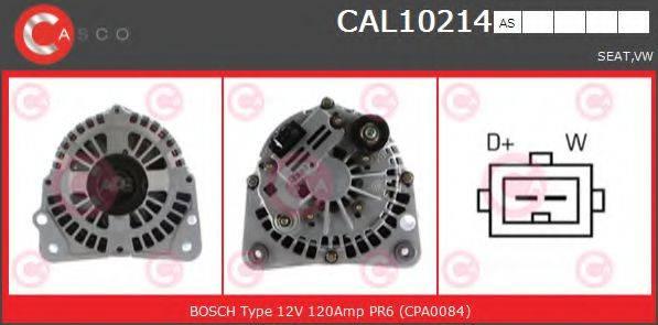 CASCO CAL10214AS Генератор