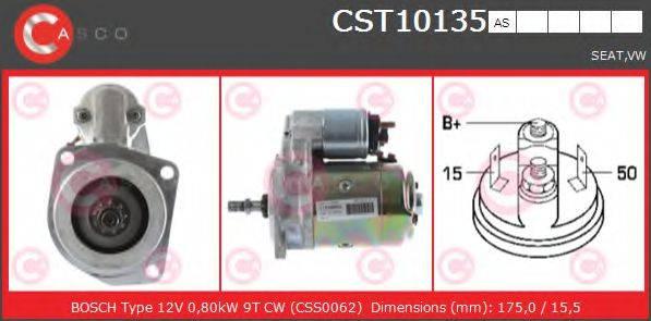 CASCO CST10135AS Стартер