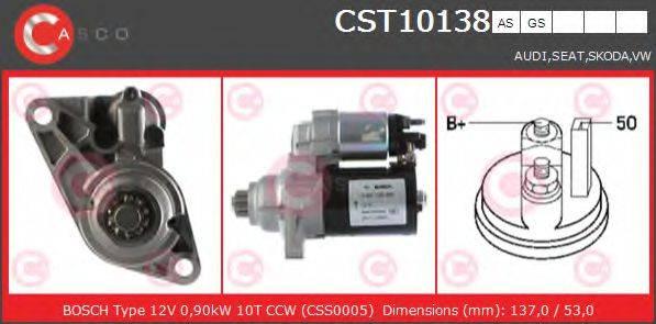 CASCO CST10138AS Стартер