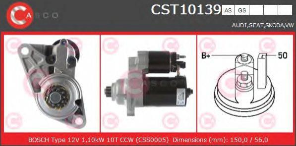 CASCO CST10139AS Стартер