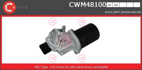 CASCO CWM48100AS Двигатель стеклоочистителя