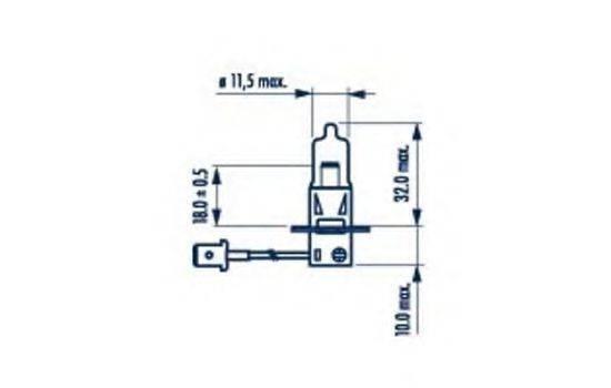 NARVA 48335 Лампа накаливания