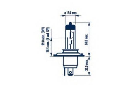 NARVA 48889 Лампа накаливания