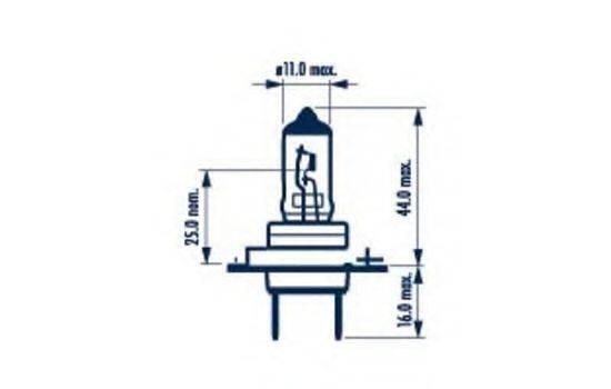 NARVA 48329 Лампа накаливания