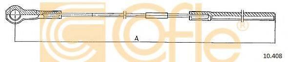 COFLE 10408 Трос, стояночная тормозная система