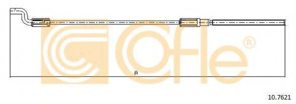COFLE 107621 Трос, стояночная тормозная система