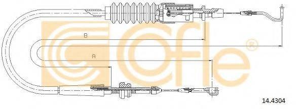 COFLE 144304 Тросик газа