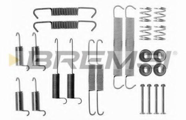 BREMSI SK0712 Комплектующие, тормозная колодка