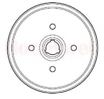 BENDIX 329705B Тормозной барабан