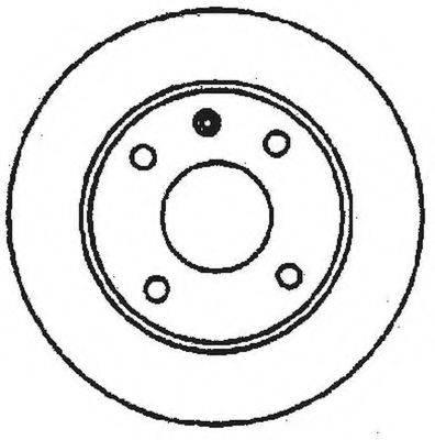BENDIX 561087B Тормозной диск