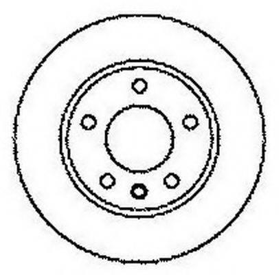 BENDIX 561609B Тормозной диск