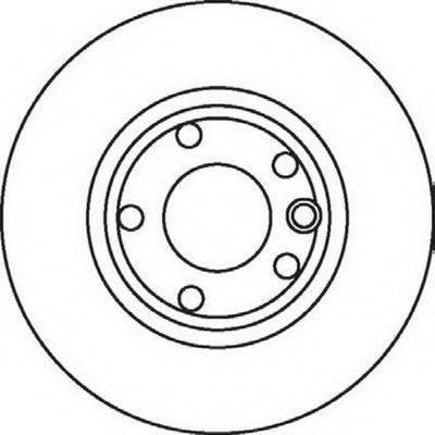 BENDIX 561857B Тормозной диск