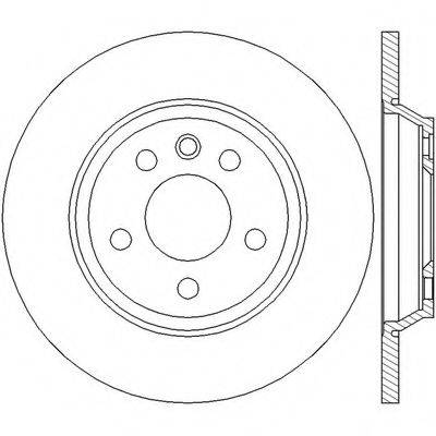 BENDIX 562448B Тормозной диск