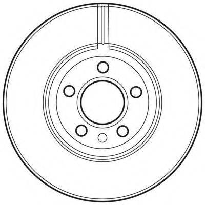 BENDIX 562626BC Тормозной диск