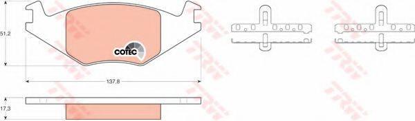 DR!VE+ DP1010100948 Тормозные колодки