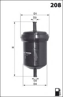 LUCAS FILTERS LFPF004 Топливный фильтр