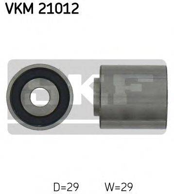 SKF VKM21012 Обводной ролик ремня ГРМ