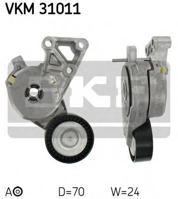 SKF VKM31011 Натяжной ролик, поликлиновой  ремень