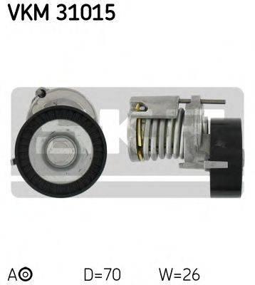 SKF VKM31015 Натяжной ролик, поликлиновой  ремень