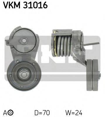 SKF VKM31016 Натяжной ролик, поликлиновой  ремень