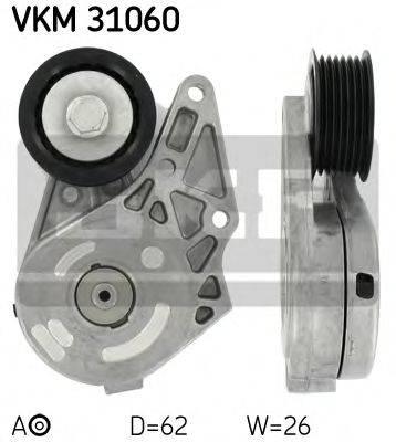 SKF VKM31060 Натяжной ролик, поликлиновой  ремень