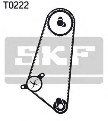 SKF VKMC01103 Водяной насос + комплект зубчатого ремня