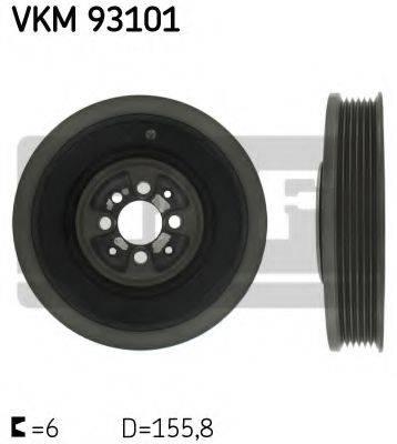 SKF VKM93101 Ременный шкив, коленчатый вал