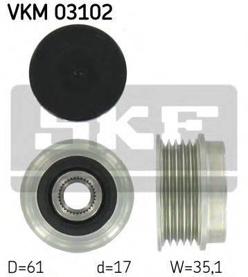 SKF VKM03102 Муфта генератора
