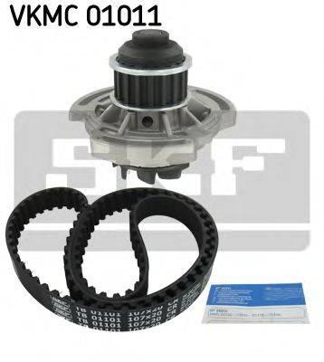 SKF VKMC01101 Водяной насос + комплект зубчатого ремня