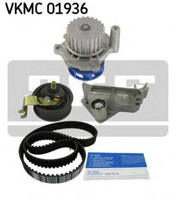 SKF VKMC01936 Водяной насос + комплект зубчатого ремня