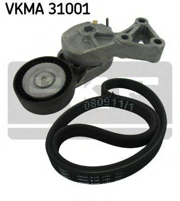 SKF VKMA31001 Поликлиновой ременный комплект
