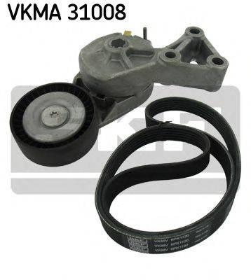 SKF VKMA31008 Поликлиновой ременный комплект