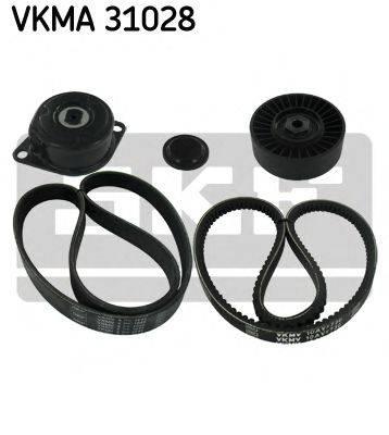 SKF VKMA31028 Поликлиновой ременный комплект