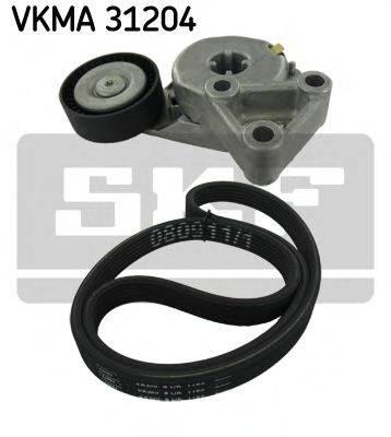 SKF VKMA31204 Поликлиновой ременный комплект