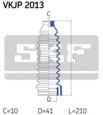 SKF VKJP2013 Пыльник рулевой рейки