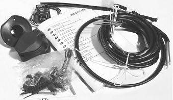 WESTFALIA 300060300107 Комплект электрики, прицепное оборудование