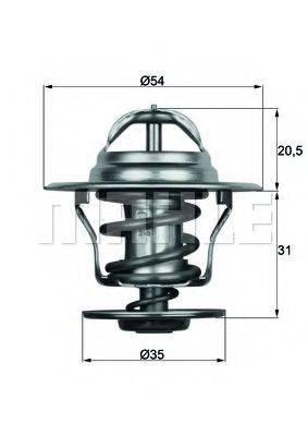 BEHR TX1587D Термостат